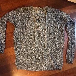 Women's cross front knit